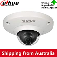 Dahua 5MP Panoramic Poe FishEye IP Security Camera IPC-EB5531 with 1.4mm Fixed Lens, 180°Wide Angle View, Built-in Mic for...