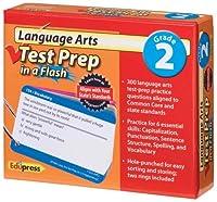 言語アートテスト準備 フラッシュ グレード2