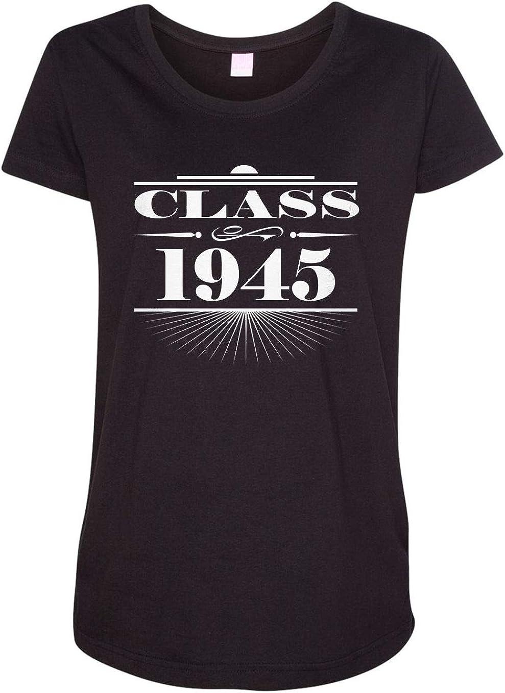 HARD EDGE DESIGN Women's Art Deco Class of 1945 T-Shirt