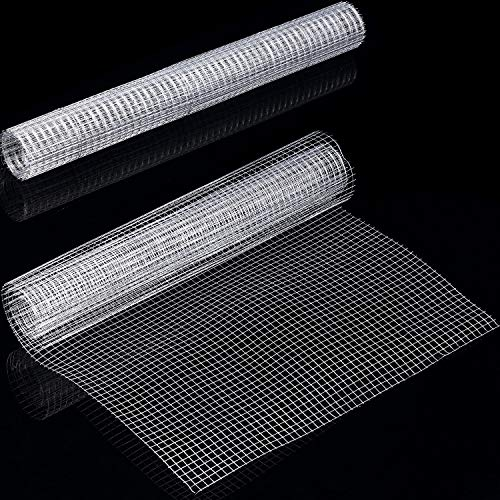 36 x 100 36inx100ft 1//2 in 19Gauge Hardware Cloth Galvanized After Welded Cage Mesh Rolls Square Chicken Wire Netting Raised Garden Rabbit Fence Snake Fencing Rodent Animals Weasel Moles Raccoons