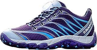 Zapatillas de bicicleta de carretera para hombre y mujer, Malla transpirable viajes al aire libre luz de montaña zapatos de montar zapatillas de deporte,Adecuado para caminos de montaña / bicicleta