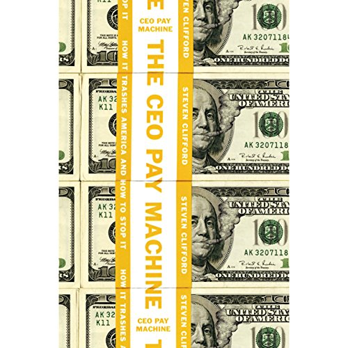 The CEO Pay Machine audiobook cover art