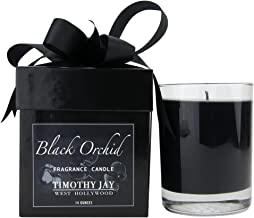 Timothy Jay Candles Classic 14 Ounce Long-Burning Black Orchid Fragrance Soy based wax