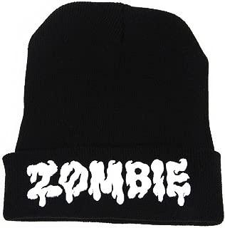 Winter Hat, ღ Ninasill ღ Exclusive ZOMBIE Beanie Hat And back Unisex Cap (Black)