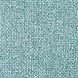 DESHOME Penelope 5 metri - Tessuto al Metro Idrorepellente stoffa resistente per divani, cuscini, tappezzeria (Turchese pastello)