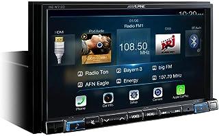 Alpine INE W710D Fixed 7 Zoll LCD Touchscreen Schwarz Navi