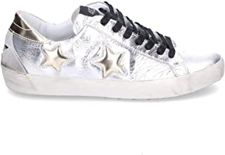QUATTROBARRADODICI Luxury Fashion Womens 2050SILVER Silver Sneakers | Season Outlet