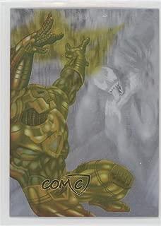 Venom; Iron Man (Trading Card) 1995 Fleer Ultra Spider-Man - Holoblast #4