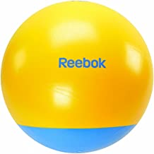 Reebok Rab-40016Cy 65 cm Two Tone Cyan Gym Ball, Multi Color