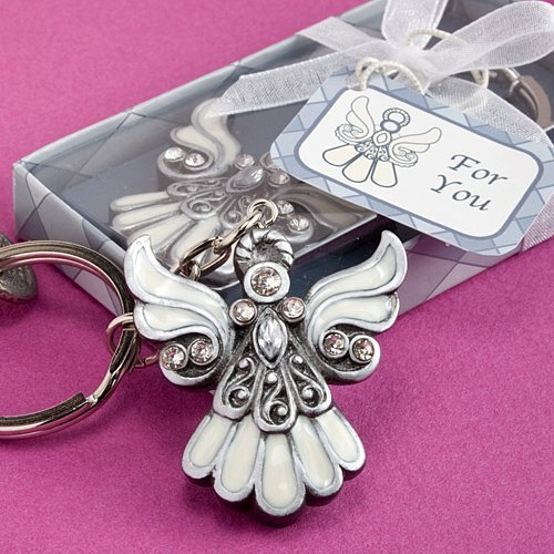 Angel Design Keychain Favors - 24 count by Fashioncraft