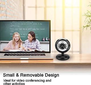 Cámara web para PC de alta definición cámara para computadora USB 2.0 con amplia compatibilidad conferencia digital Cámara extraíble sin controlador para computadora/computadora de escritorio para W