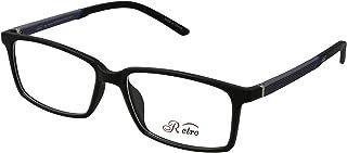 RETRO Unisex-adult Spectacle Frames Rectangular 3002 M.Black/Grey