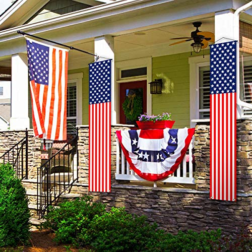 Veterans Day Decoration Banner,American Stars and Stripes Flag Decor,4th of July Memorial Day...
