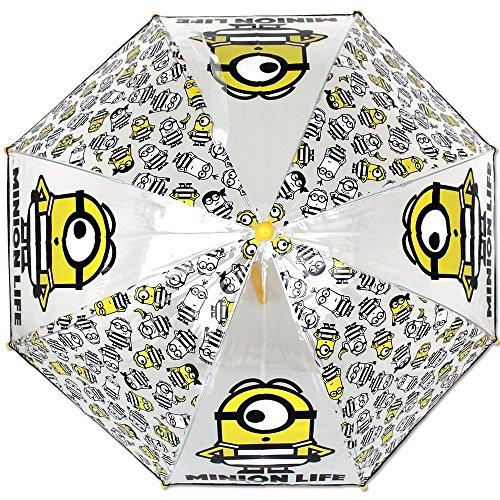 Regenschirm Minions Bubble gelb-schwarz - Kinderschirm - Kinder Regenschirm
