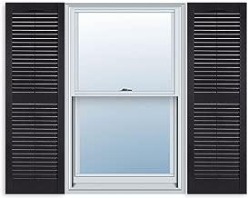 custom size exterior vinyl shutters