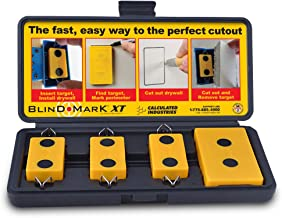 Calculated Industries 8105 Blind Mark Drywall Electrical Box Cutout Tool – Powerful..
