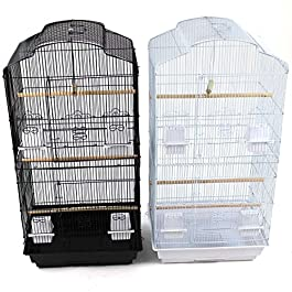 Easipet Large Metal Bird Cage for Budgie, Cockatiel, Lovebirds etc