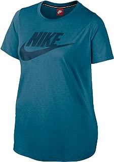 Nike Women's Plus Size Futura Logo Print Athletic T-Shirt