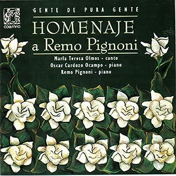 Homenaje a Remo Pignoni