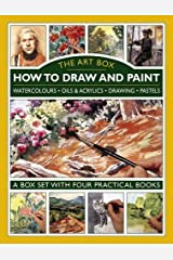 Art Box - How to Draw and Paint (4-Book Slipcase): Watercolours • Oils & Acrylics • Drawing • Pastels: A Box Set with Four Practical Books Hardcover