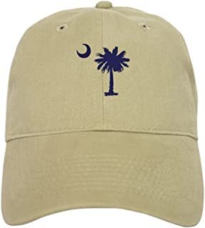 South Carolina Palm Tree State Flag Baseball Cap