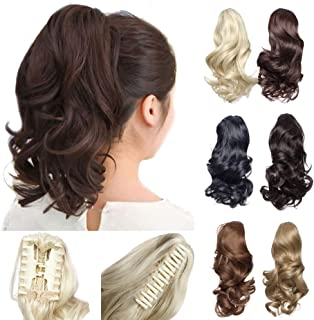 Best ponytail clip on hair extensions Reviews