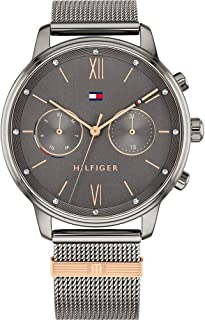 Tommy Hilfiger Women's Analogue Quartz Watch with Stainless Steel Strap 1782304