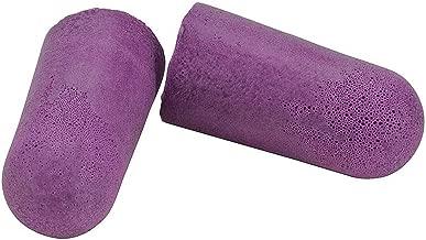 CONDOR20JK06 Ear Plugs, Purple, Polyurethane, PK200