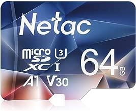Netac 64GB Micro SD Card, microSDXC UHS-I Memory Card -...