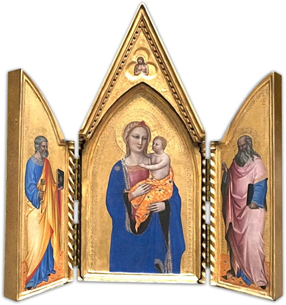 Hail Mary Gifts Madonna 25% OFF with STS. Peter Triptych John Plaque Free Shipping New and