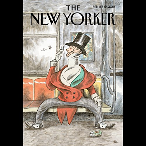 The New Yorker, February 8th and 15th 2016: Part 2 (Joshua Yaffa, Patricia Marx, James Wood)                   De :                                                                                                                                 Joshua Yaffa,                                                                                        Patricia Marx,                                                                                        James Wood                               Lu par :                                                                                                                                 Todd Mundt                      Durée : 2 h et 13 min     Pas de notations     Global 0,0