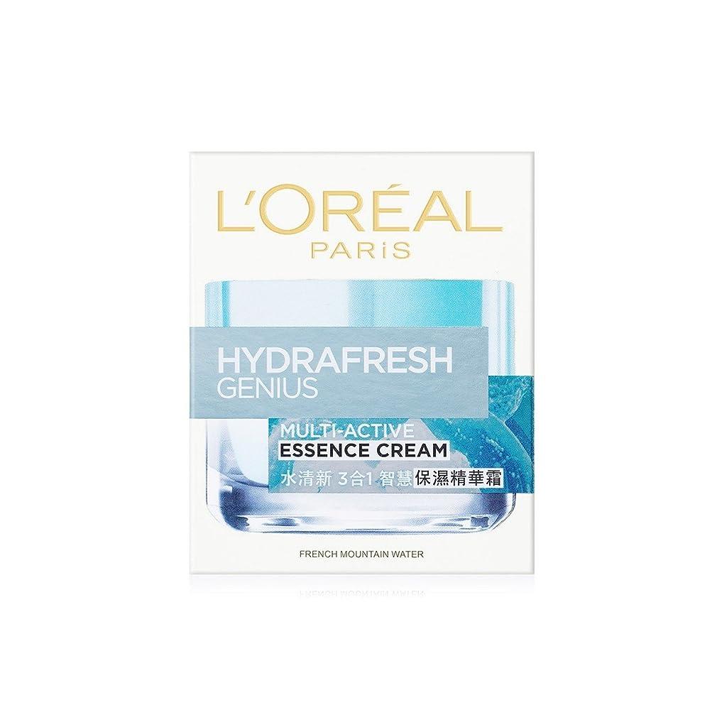 お酒依存する北米ロレアル Hydrafresh Genius Multi-Active Essence Cream 50ml/1.7oz並行輸入品