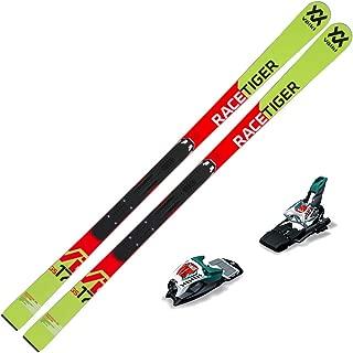 Volkl 2019 Junior Racetiger GS R Skis w/Marker Race 10 TCX Bindings