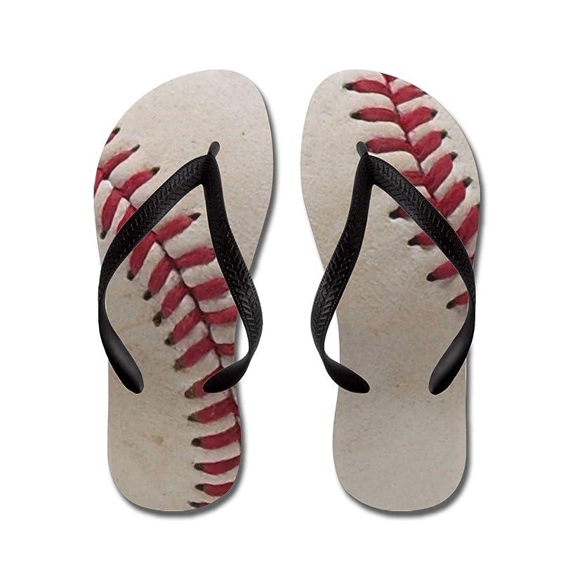 CafePress - Baseball - Flip Flops, Funny Thong Sandals, Beach Sandals