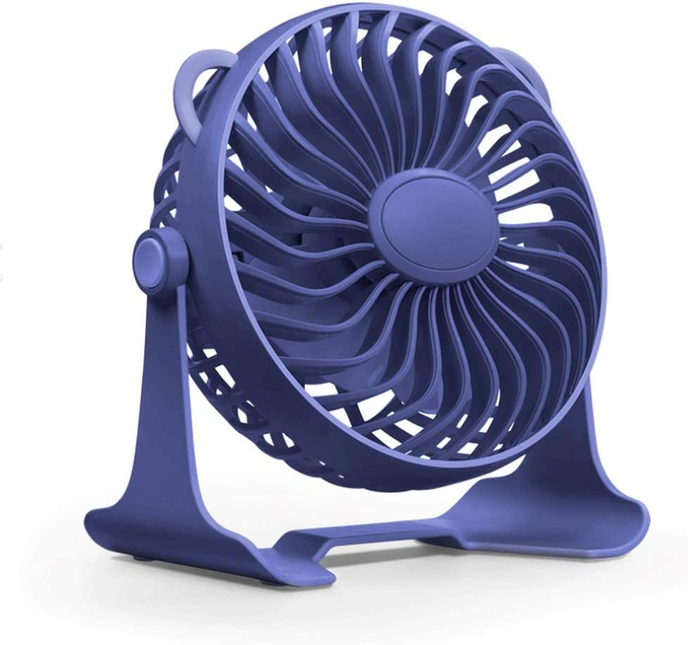 ZXCVBN New product type Home Outdoor Mini Rotatable Fan Port Indefinitely Silent Lazy Handheld