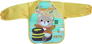 Baby bib with cartoon sleeves - Bella Bambino , 2725609490202