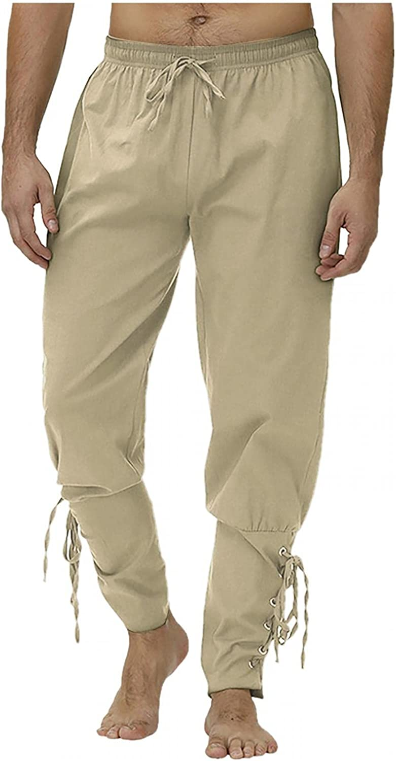 Stoota Men's OFFicial Ankle Ranking TOP5 Banded Cuff Pants Renaissance Medieval Retro