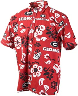 uga button up shirt
