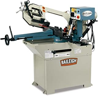 Baileigh BS-250M Hydraulic Horizontal Mitering Band Saw, 110V, 1.5hp Motor, 1