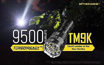 Nitecore TM9K 9500 Lumens Rechargeable LED Flashlight