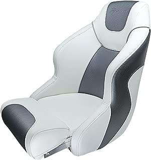Seamander S1045 Series Premium Bucket Seat,Sport Flip Up Seat, Captain Seat