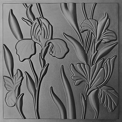 Pixus-ua Plastic Mold Form for Wall Panel IRIS Wall Mold for Gypsum or Concrete
