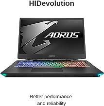 "HIDevolution Aorus 15 W9 15.6"" FHD 144Hz Gaming Laptop | 2.2 GHz i7-8750H, RTX 2060, 16GB 2666MHz RAM, PCIe 512GB SSD + 2T..."