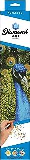 Leisure Arts-Diamond Art by Leisure Arts - Powered by Diamond Dotz - 5D DIY Diamond Painting Kit - Peacock Design