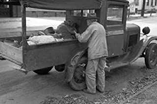 Fruit Vendor 1939 Na Roadside Fruit Vendor Meriden Connecticut Photograph By Russell Lee October 1939 Poster Print by (18 ...