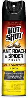 Hot Shot 96782 Ant, Roach & Spider Killer Insecticide, 17.5 oz, Yellow