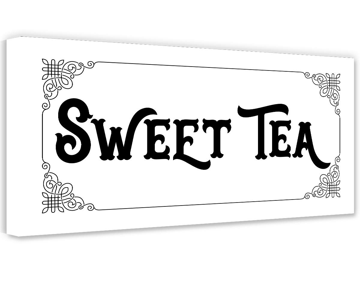 Sweet Tea - Unframed Print and Great Kitchen Gift 2021 autumn winter new Housewarming Free Shipping New