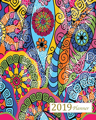 2019 Planner: A Year - 365 Daily - 52 Week-Daily Weekly Monthly Planner Calendar, Journal Planner and Notebook, Agenda Schedule Organizer, Appointment ... Designs (January 2019 to December 2019)