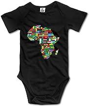 V5DGFJH.B Toddler Climbing Bodysuit African American Pride Infant Climbing Short-Sleeve Onesie Jumpsuit