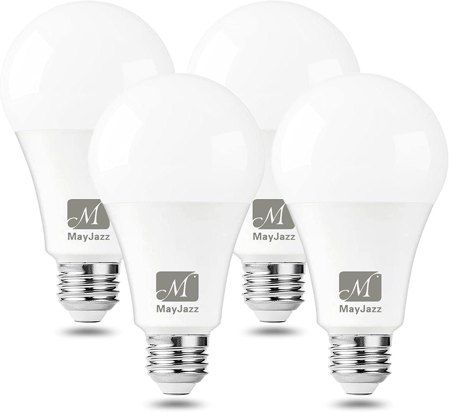 A19 LED Light Bulbs M MayJazz Warm 1 3000K Max Now on sale 81% OFF Led 15W White Bulb